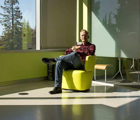 Eric Larsen heads research in society and technology at Mercedes-Benz Research and Development in Sunnyvale, Calif. He says that while vehicles will be shared, Americans are not likely to give up their own cars.