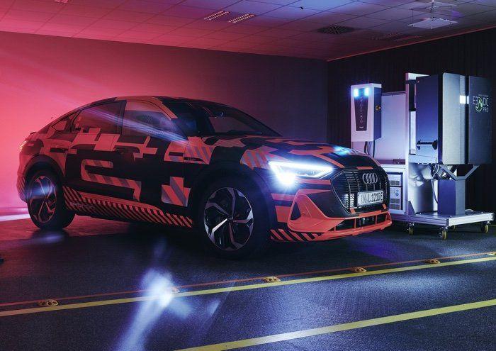Audi bidirectional charging technology