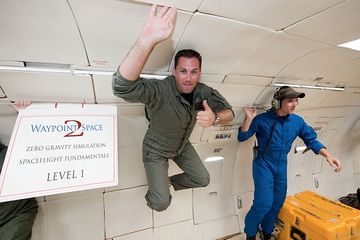 Waypoint 2 Space Company to Train Spaceflyers