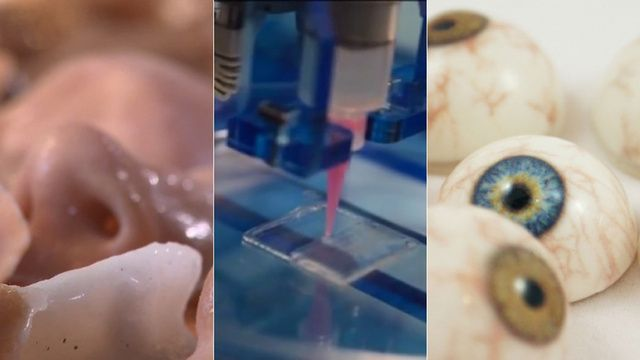 How 3D Printers Are Cranking Out Eyes, Bones, and Blood Vessels