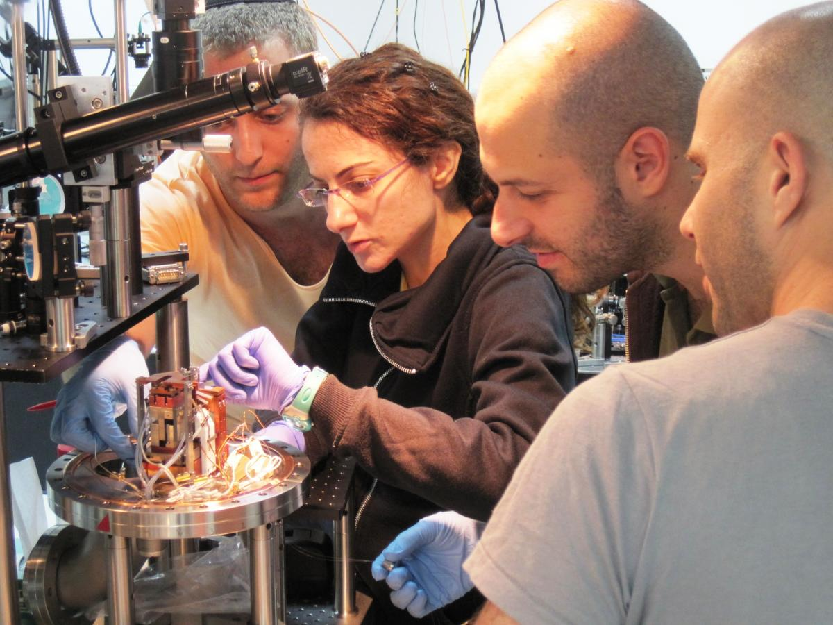 Dr. Barak Dayan's group at the Weizmann Institute
