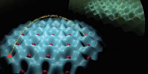 An artificial quantum world of atoms and light
