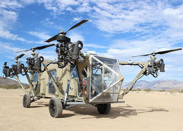 The U.S. military have commissioned the creation of a vehicle that can drive and fly remotely so it can be sent on missions unmanned