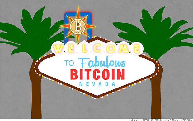 bitcoin vegas sign