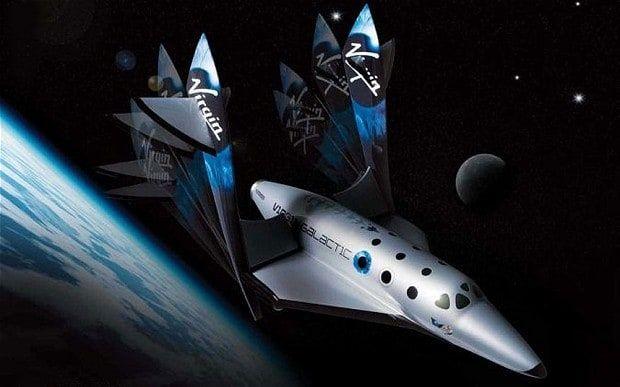Virgin Galactic handout artist's impression of the Virgin SpaceShipTwo