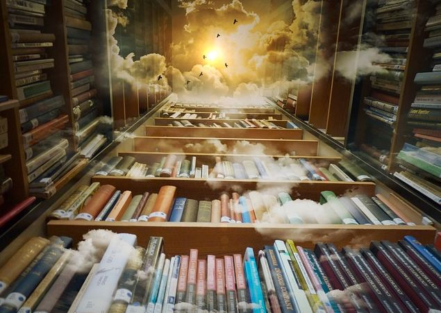 Wikipedia-fantasy-library
