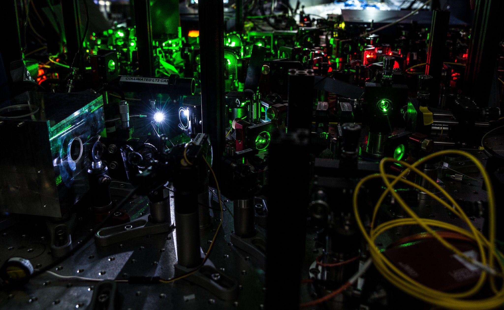 delft quantum entanglement apparatus