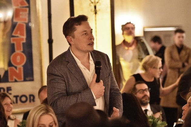 BEVERLY HILLS, CA - FEBRUARY 25: Elon Musk attends The Dinner For Equality co-hosted by Patricia Arquette and Marc Benioff on February 25, 2016 in Beverly Hills, California.  (Photo by Mike Windle/Getty Images for Weinstein Carnegie Philanthropic Group)