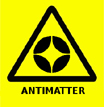 Antimatter Warning